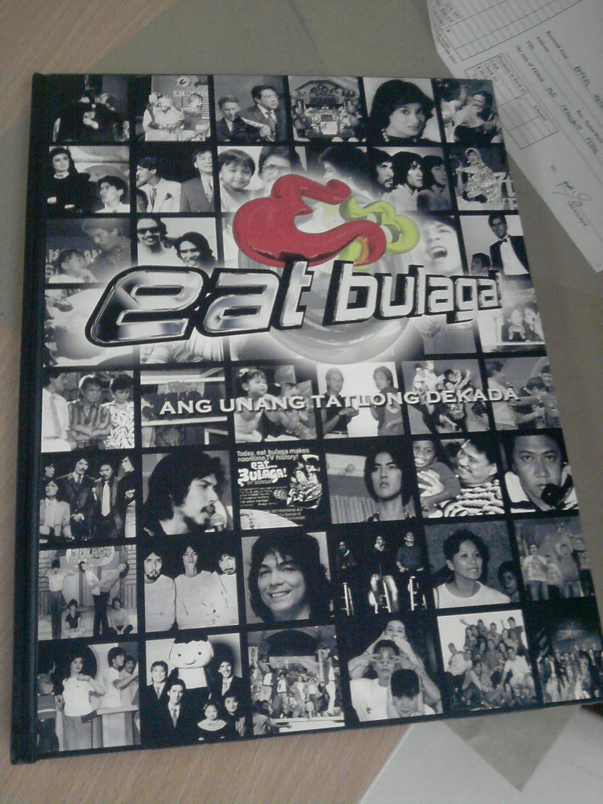 Occasions Of Joy Eat Bulaga S Coffee Table Book Ang Unang