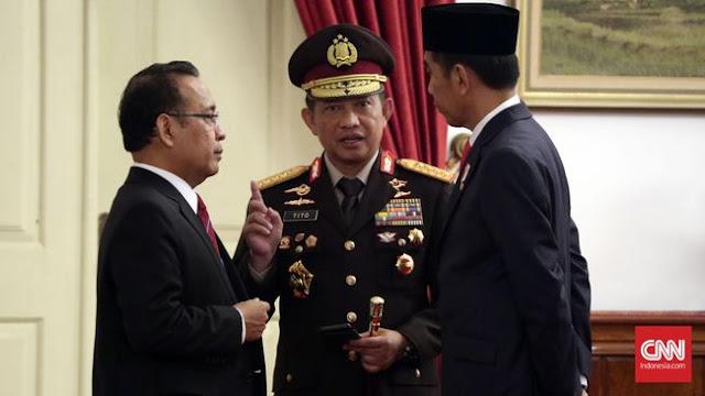 Jokowi Perintahkan Kapolri Tegas Usut Kasus Audrey