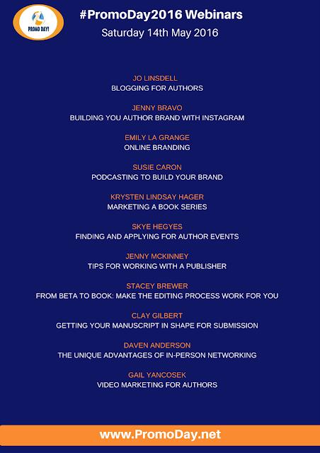 Full List of FREE Webinars at #PromoDay2016