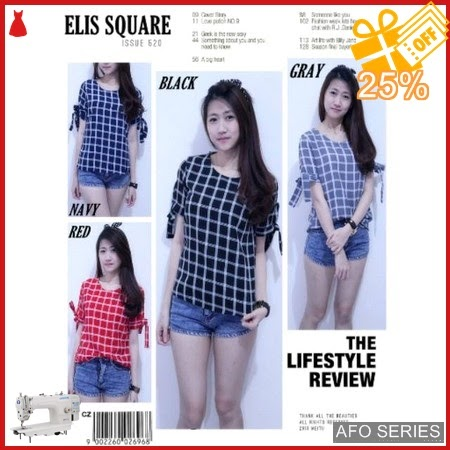 AFO513 Model Fashion Elis Square Modis Murah BMGShop
