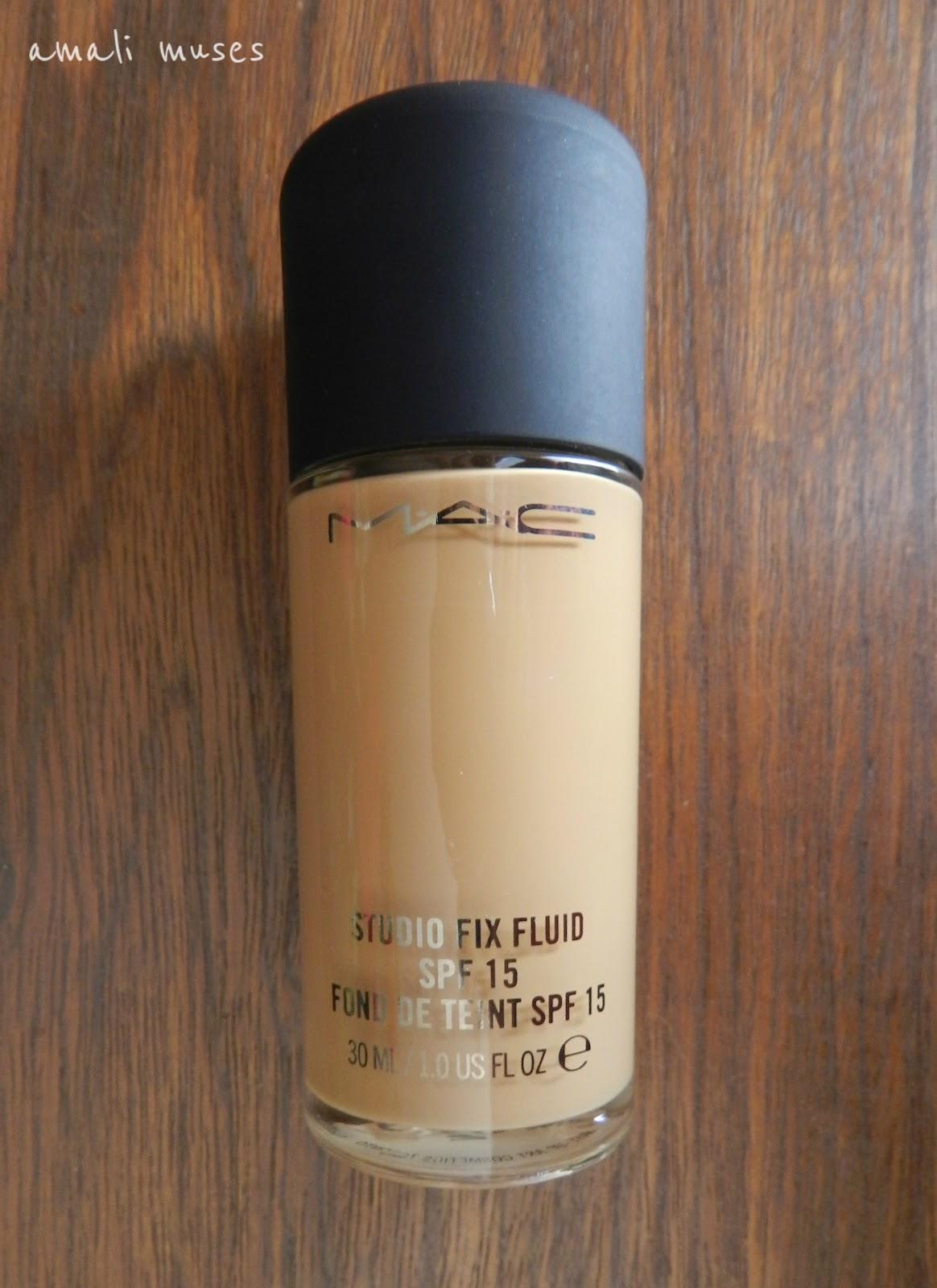 mac studio fix fluid spf 15 facial foundation review
