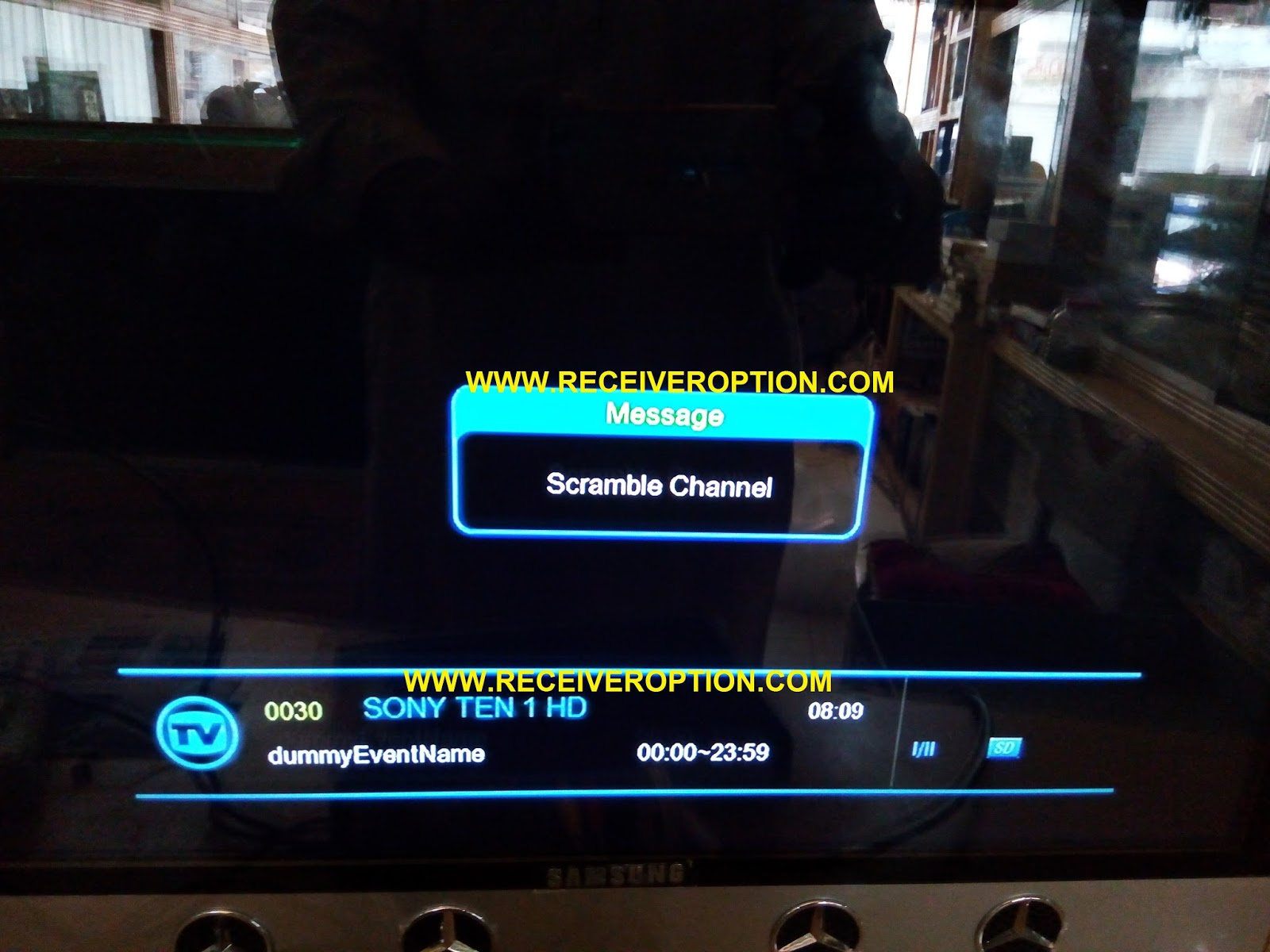 ECHOLINK 9090 HD RECEIVER POWERVU KEY OPTION - HOW TO ENTER BISS KEY