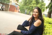 Poojita Super Cute Smile in Blue Top black Trousers at Darsakudu press meet ~ Celebrities Galleries 077.JPG