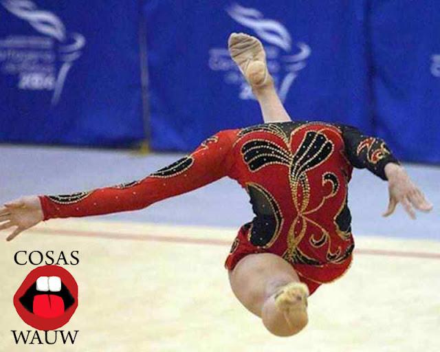 bailarina que parece que no tenga cabeza