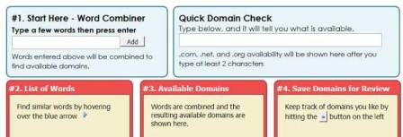Top domain name suggestion tools or domain name generation tools