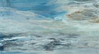 110 - Regarde - © Edith Smets - 180/100 - huile et collage sur toile