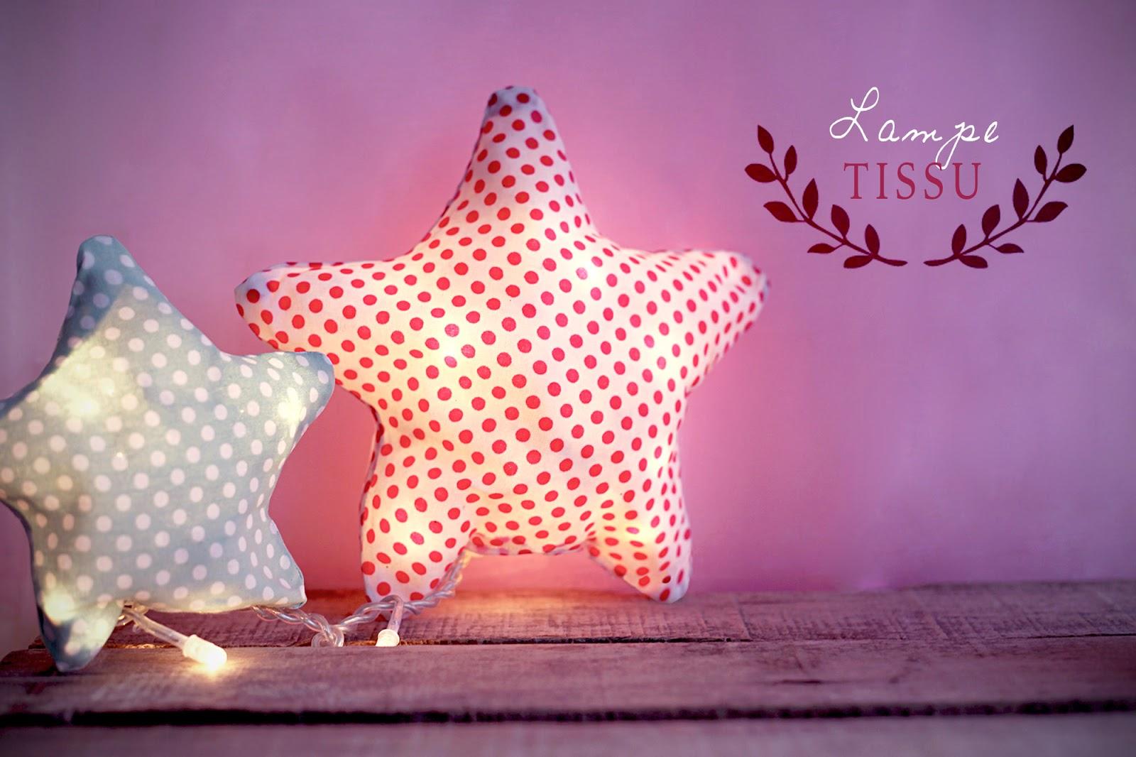 DIY :: LAMPE TISSU