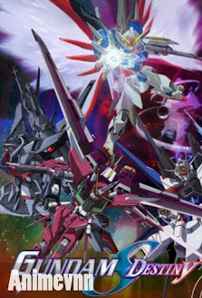 Chiến Binh Thần Tốc - Gundam Seed Destiny 2013 Poster