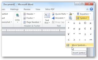 Trademark di Microsoft Word