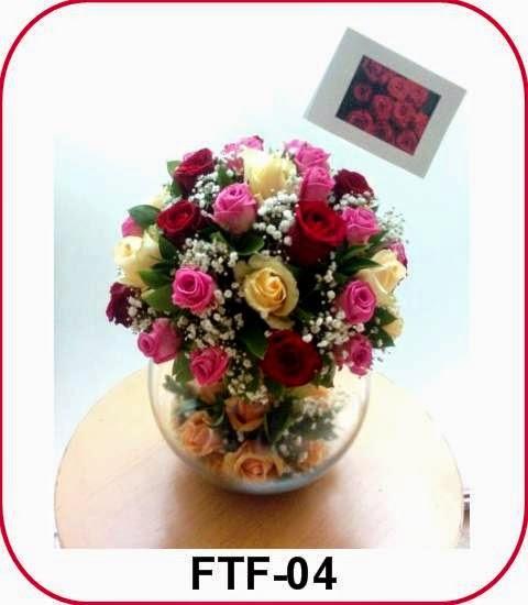 Buket Bunga Meja