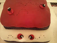 ladybird cake side