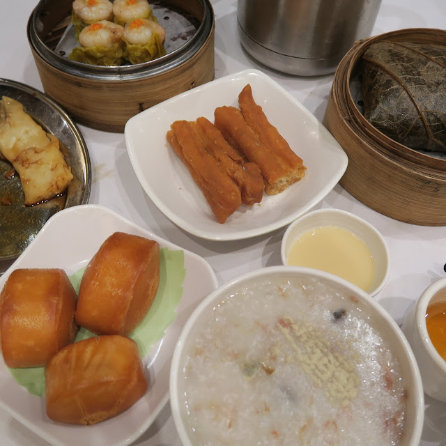 traditional typical hong kong breakfast, dim sum