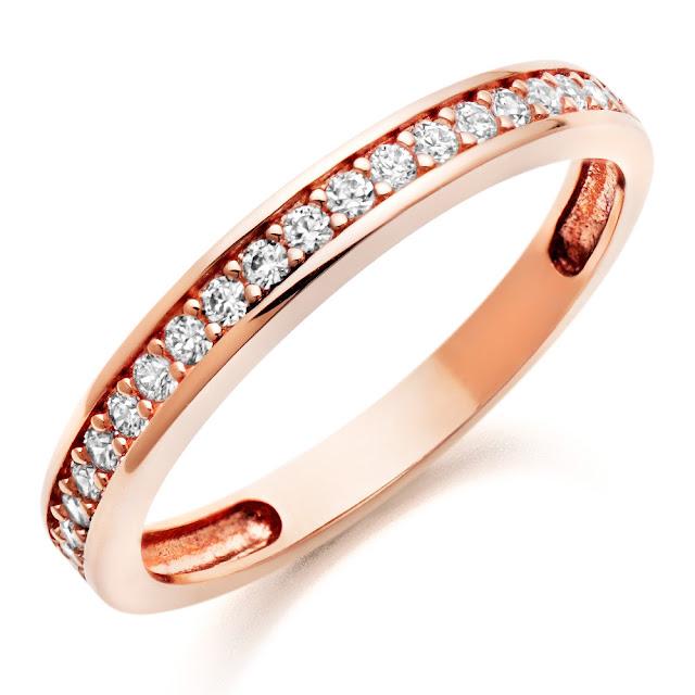 9Ct Rose Gold Wedding Rings