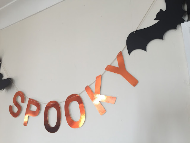 Spooky bunting from Party Pieces