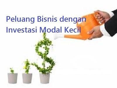 Peluang Bisnis dengan Investasi Modal Kecil