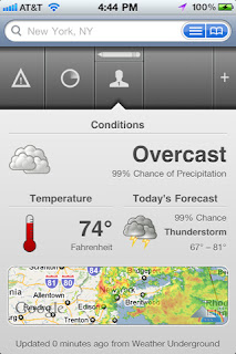 Apple iPhone Weather Apps: The Weather