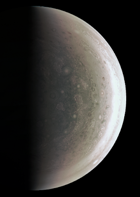 El polo sur de JúpiterNASA/JPL-Caltech/SwRI/MSSS