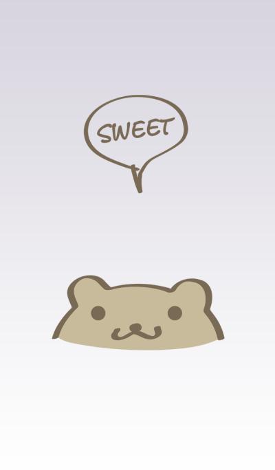 Lovely Bear simple theme