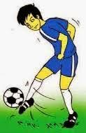 Belajar Ketrampilan Menendang Bola Permainan Sepak Bola ...