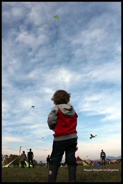 premier vol cerf volant