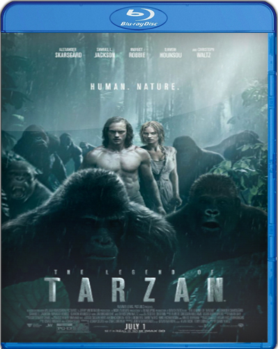 The Legend of Tarzan [2016] [BD25] [Latino]