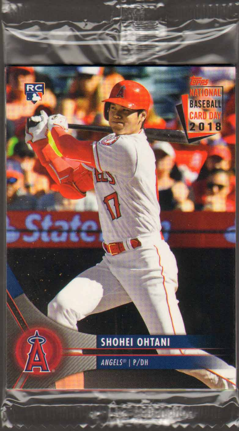 A Pack To Be Named Later 2018 Topps National Baseball Card Day