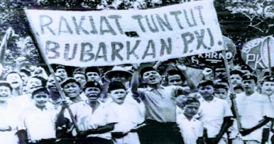 """Rentetan Peristiwa Pemberontakan """"kudeta"""" Komunis PKI Di Indonesia"""