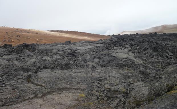 Leirhnjúkul in islanda