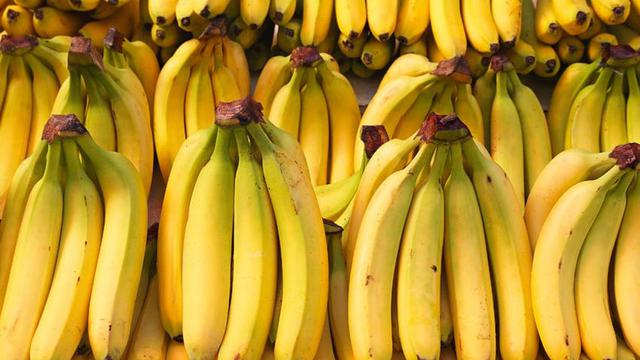 Bananas are rich in potassium and contain good protein and fiber content.