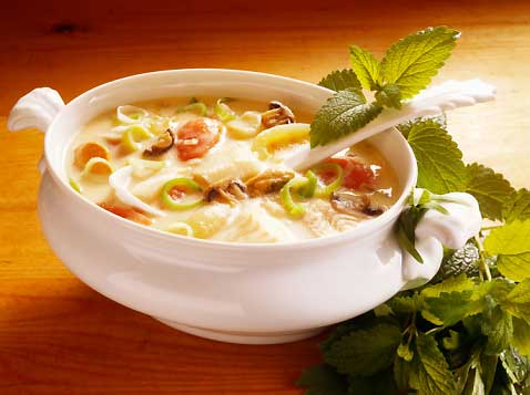 Diet soups to lose weight