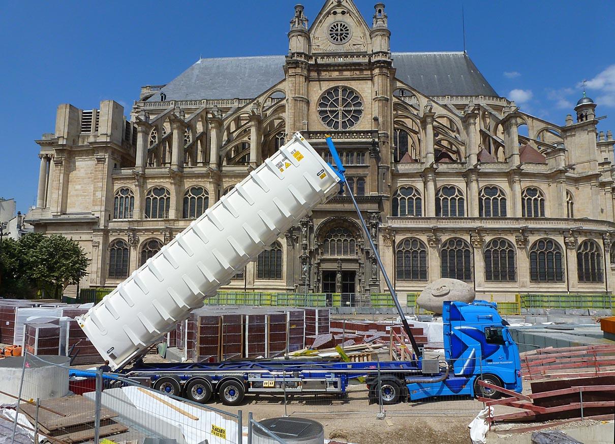 Construction Aix En Provence living the life in saint-aignan: le chantier des halles à paris