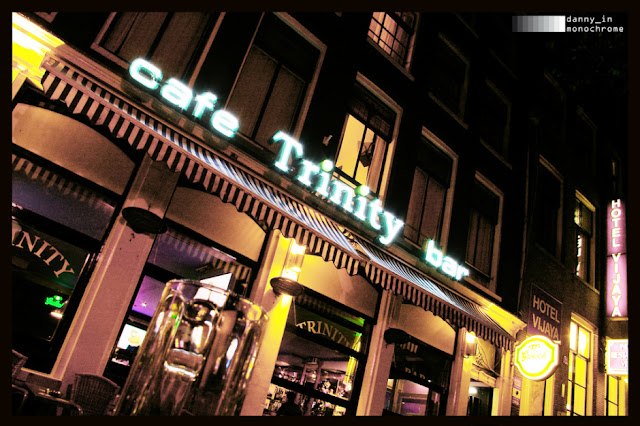 Coffee Shop Trinity em Amsterdã