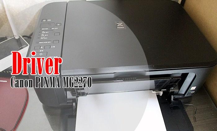 Driver Canon PIXMA MG2270- tistory.com