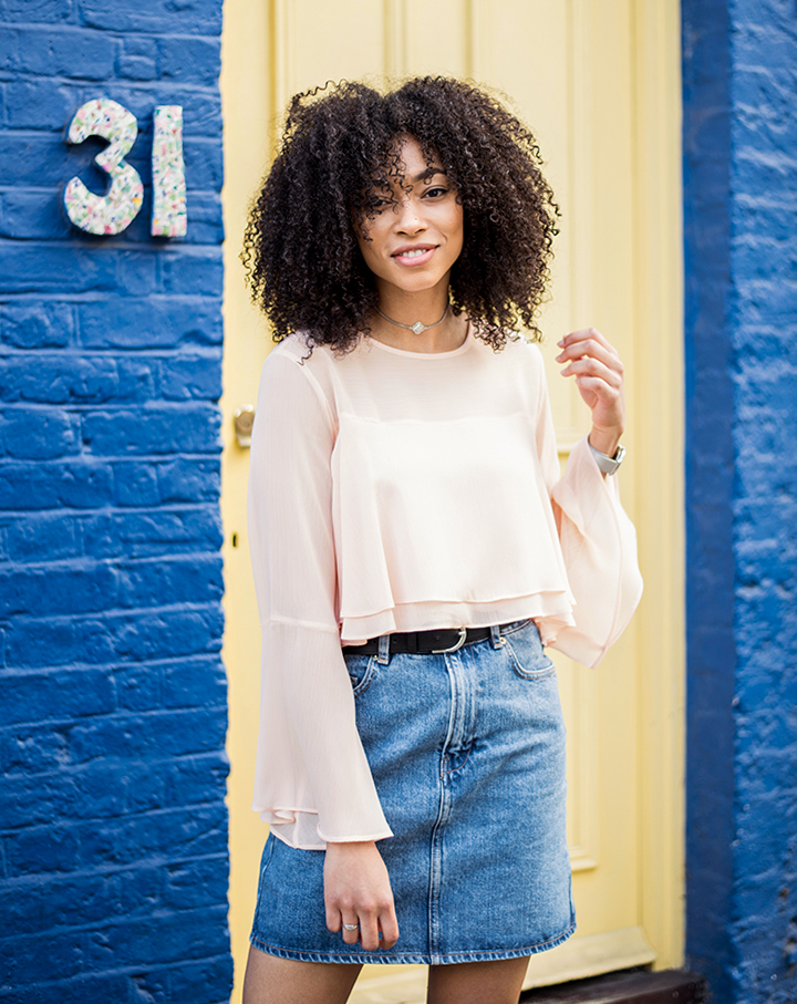 Style | Topshop Fluted Blouse