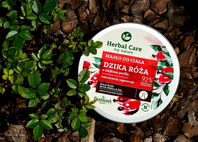 Herbal Care Masło do ciała Dzika róża z olejkiem Perilla  recenzja