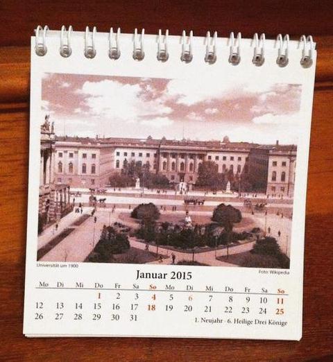 Humboldt Universität, Berlim em 1900