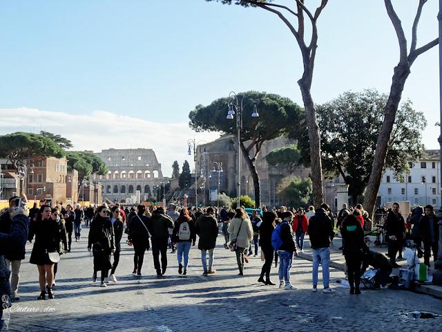 rzym, grudzień, zwiedzanie, włochy, boże narodzenie