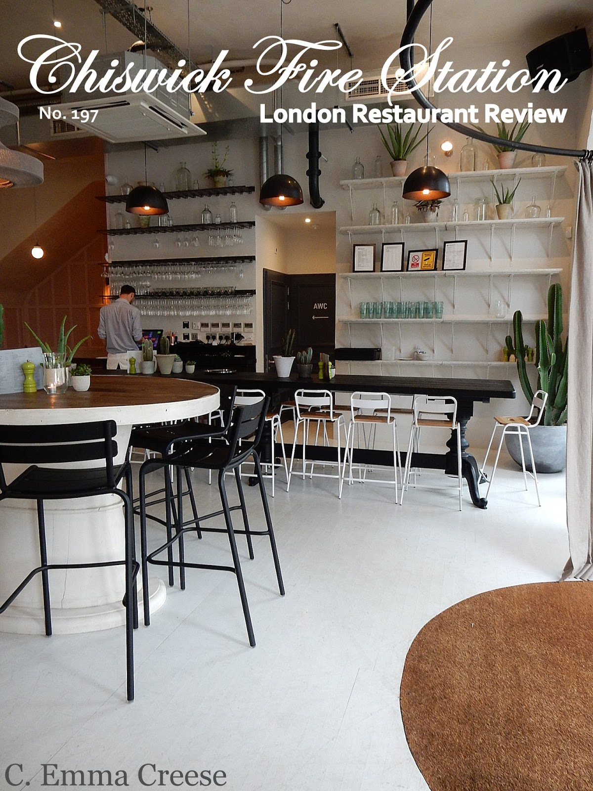 Restaurant Review No.197 Chiswick Fire Station Adventures of a London Kiwi