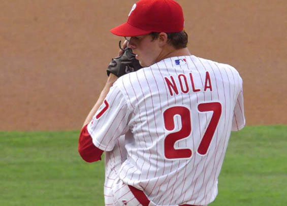 Philadelphia hurler Aaron Nola faltered for the second consecutive game