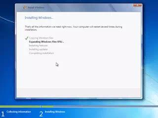 process of windows 7 installation in hindi