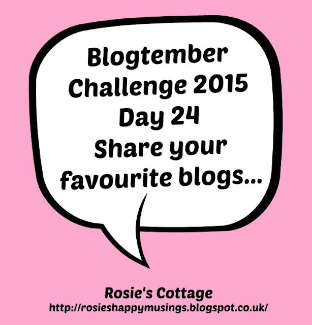 Blogtember Day 24 My Favourite Blogs