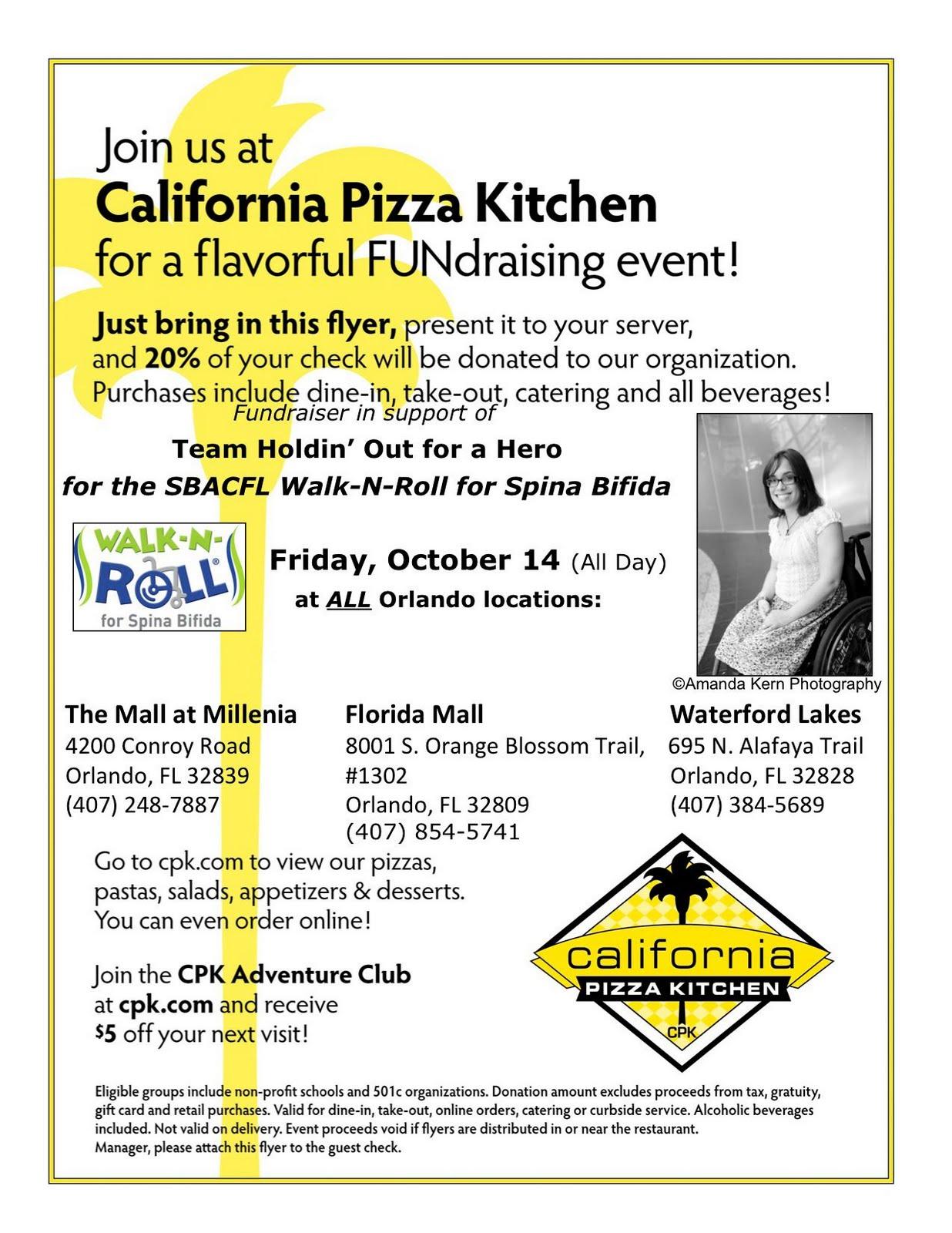 California Pizza Kitchen Orlando Florida Mall