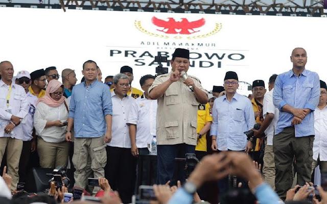 Gunakan Bahasa Arab, Prabowo Sapa Stasiun TV Al Jazeera