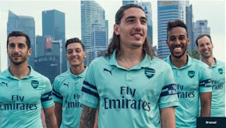PHOTOS: Check Out Arsenal Football Club's New Jersey That Is Currently Breaking The Internet