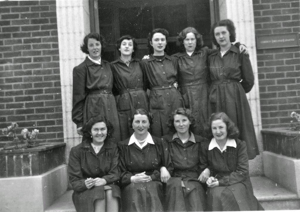 Frauen aus dem 50