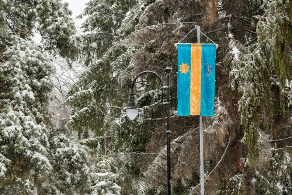 Sebastian Cucu, nemzeti szimbólumok, székely zászló, Kovászna megye, Háromszék