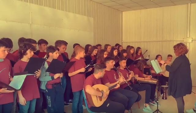 Επίσκεψη του Παραδοσιακού Συνόλου του Μουσικού Σχολείου Αργολίδας στην Πρέβεζα (βίντεο)