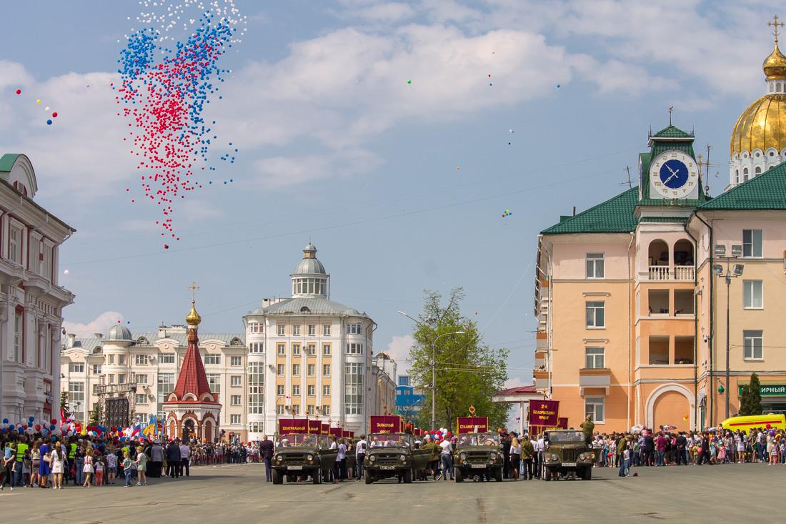Митинг в честь Дня Победы. Саранск - 2019.