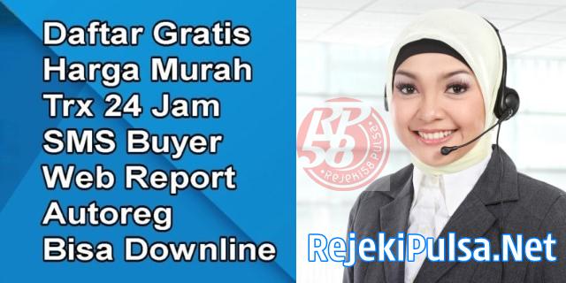RejekiPulsa.net Web Resmi Server Rejeki58 Pulsa Termurah Semarang Solo Yogyakarta
