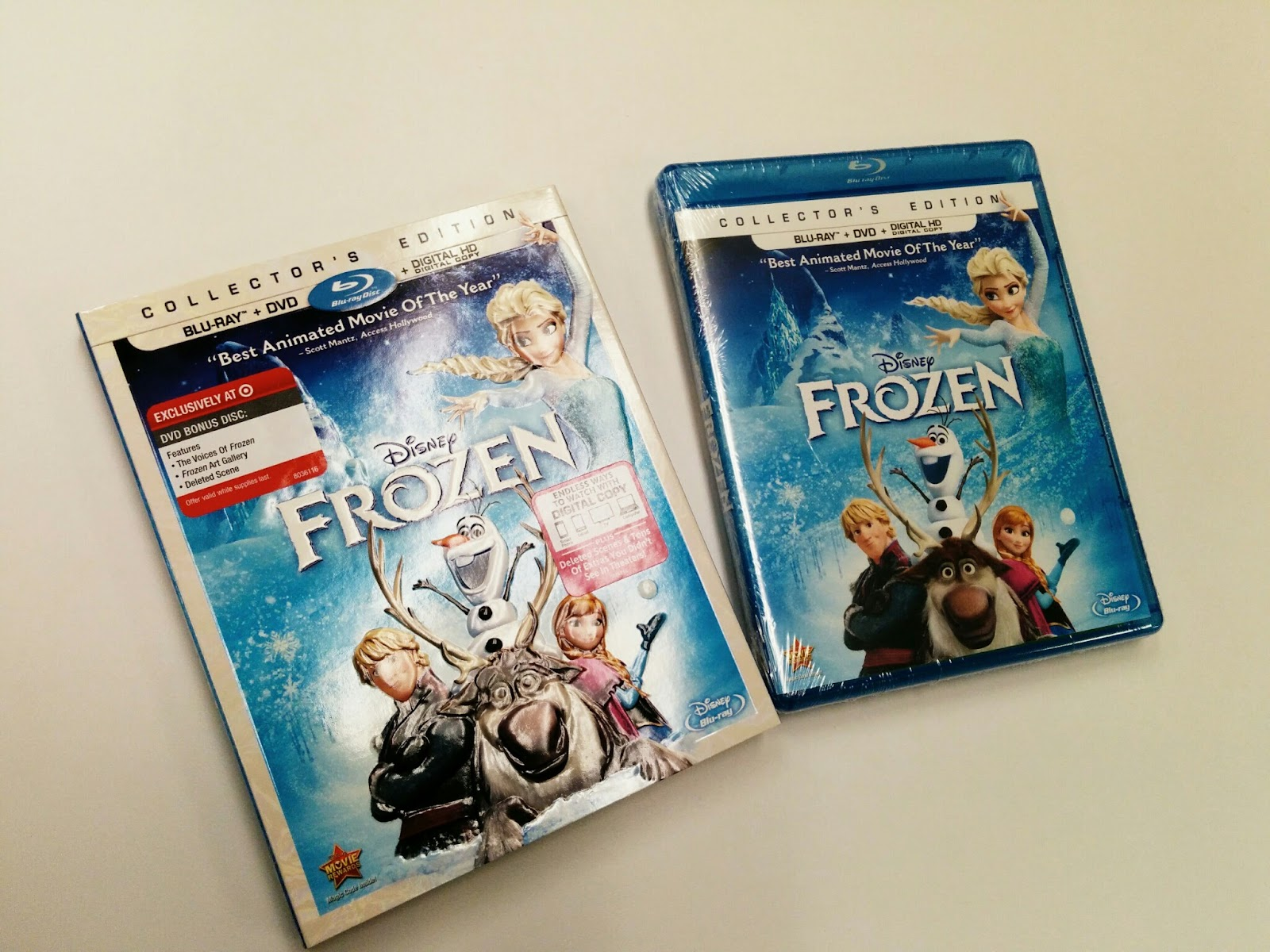 Mashed Thoughts: Frozen Collector's Edition Blu-ray Combo Pack Review